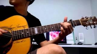 Sakura Ikimono Gakari Acoustic Guitar Cover