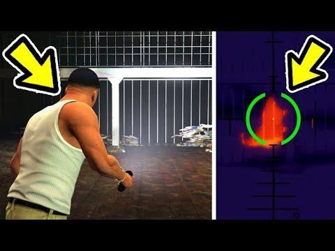 🔴 מה יקרה אם ננסה להשתמש בראיית החום כדי למצוא את מפלצת הביוב ב GTA V?