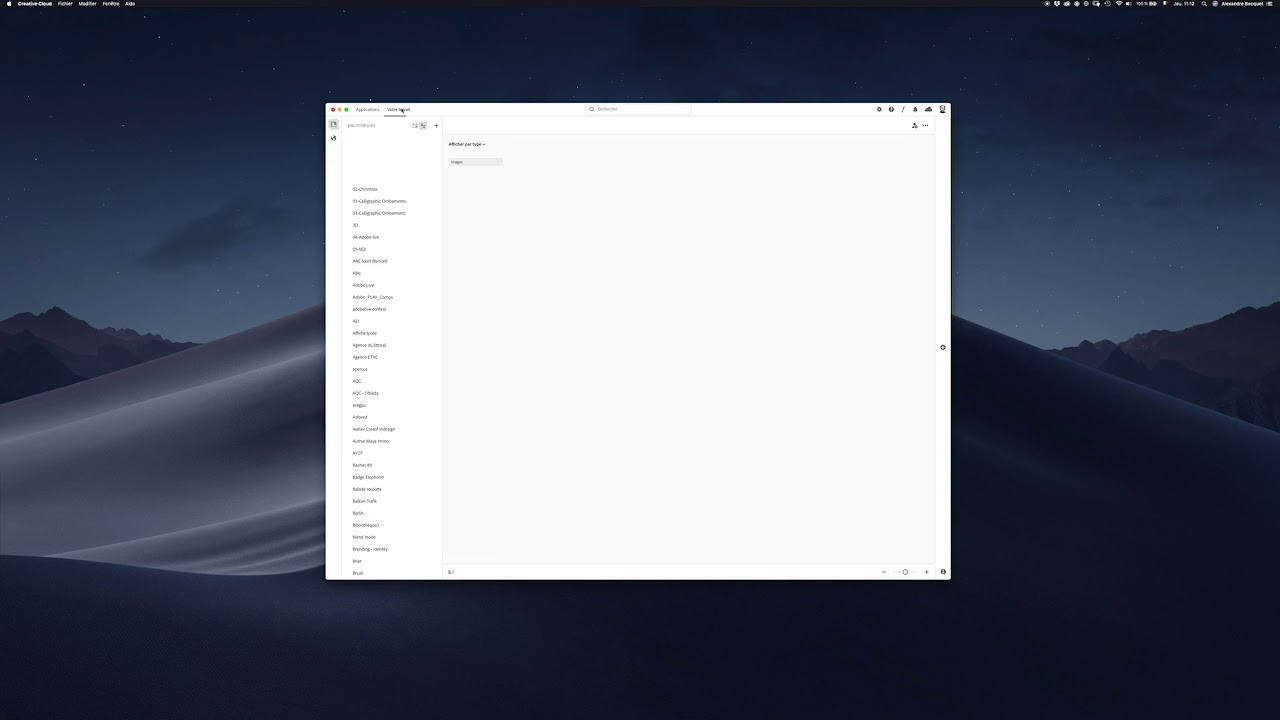 CiaDesign - Nouveauté de l'interface Creative Cloud 2019 81752