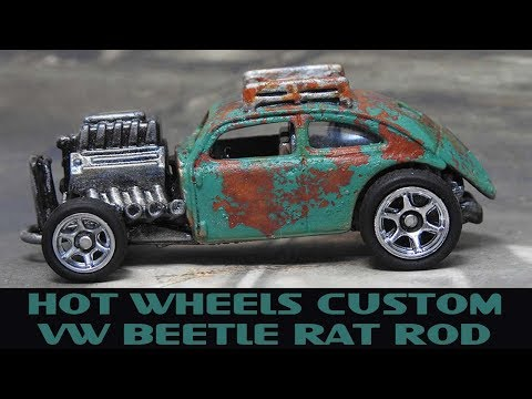 Hot Wheels Custom Volkswagen Beetle Rat Rod