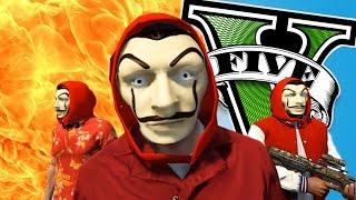 ROBANDO BANCOS (La Casa de Papel) !! - GTA 5 Mods