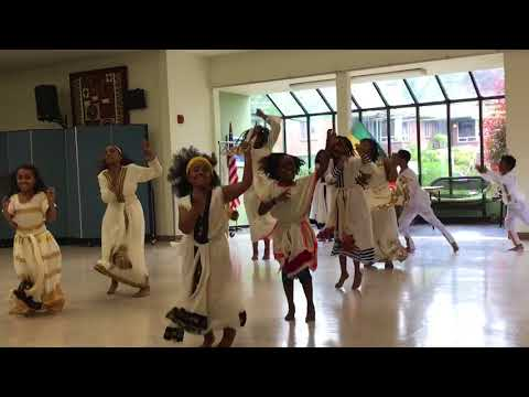 Dearborn Park international school cultural dance. ( team Ethiopia) 2018 Seattle Washington