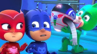 PJ Masks en Español Nueva Temporada 2 ❤️ Nuevos Amigos: El Robot PJ 🎉 Dibujos Animados