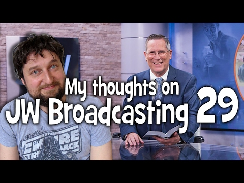 My thoughts on JW Broadcasting 29, with John Ekrann (tv.jw.org) - Cedars' vlog no. 146