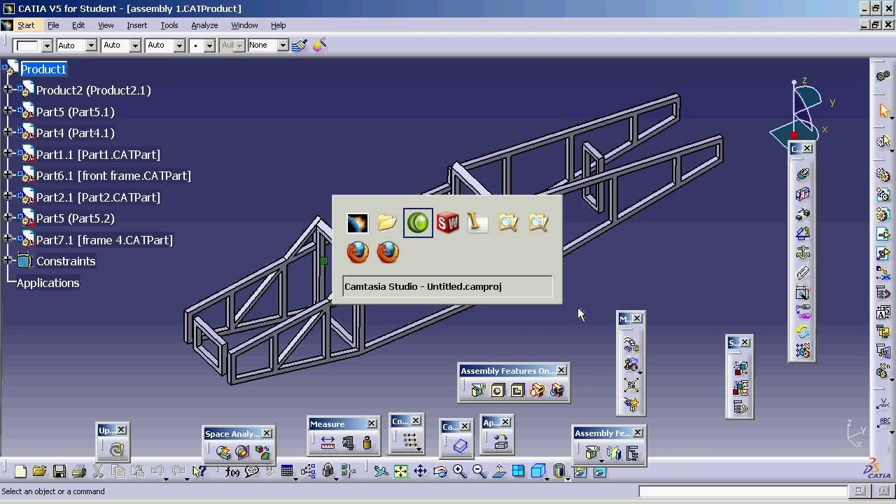 Catia V5 To Swx Fuselage Bending Youtube
