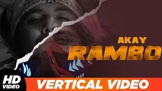 Rambo | Vertical Lyrical | A KAY | Western Pendu | Latest Punjabi Songs 2019