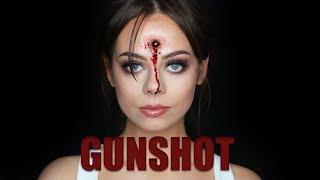 GUNSHOT WOUND SFX Makeup Tutorial