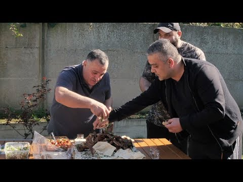 Вкусный шашлык (хоровац) из бараньей корейки. Рецепт от Жоржа II BBQ Côtes D'agneau