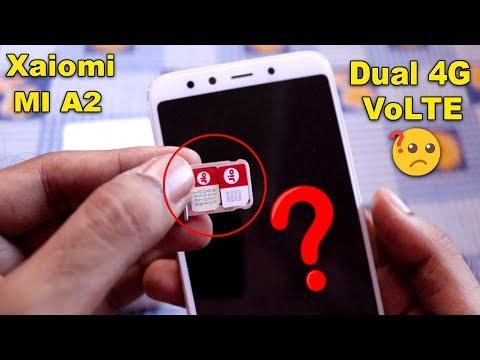 Xiaomi MI A2 Dual 4G VoLTE Test🔥 | Dual Jio 4G + Vodeafone 4G SIM Test in Hindi