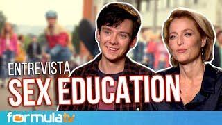 Sex Education: Gillian Anderson, Asa Butterfield y el 'expediente X' del sexo