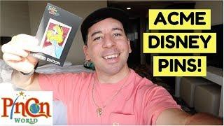 ACME DISNEY PRINCESS PINS! | PinCon World Anaheim 2018 Vlog Day 3 Video