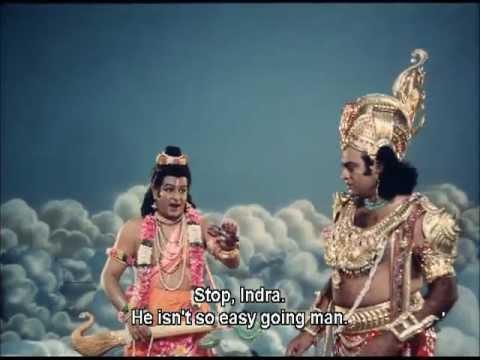 Indra vs. Jambhasura