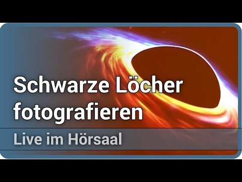 Foto eines Schwarzen Lochs • Event Horizon Telescope (EHT) • Live im Hörsaal | Andreas Müller