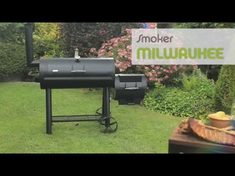 Tepro Grill Smoker Holzkohlegrill Milwaukee Test : Tepro smoker milwaukee youtube