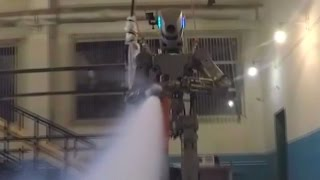 Russian android robot FEDOR shows off handyman skills in new series of experiments