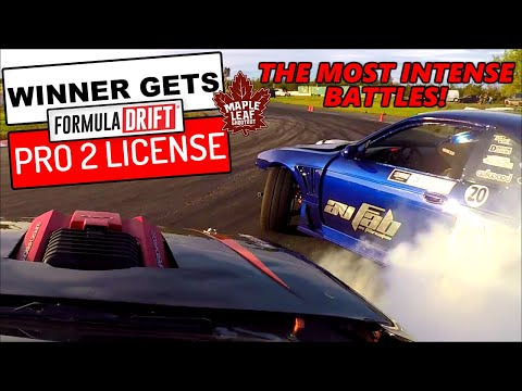 BEST DRIFTERS In Canada 🍁 BATTLE For A FORMULA DRIFT PRO 2 License And $7000! - Maple Leaf Shootout