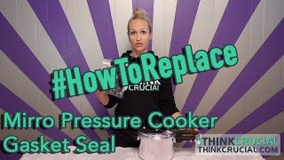 Replace Your Mirro Pressure Cooker Gasket Seal - Fits S-9892 and 4, 6, & 8 QT Models