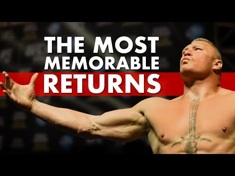 The 15 Most Memorable Returns In MMA