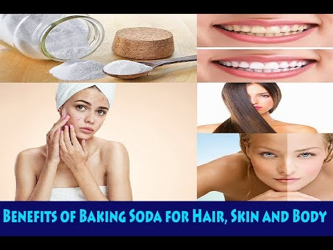 Benefits of Baking Soda for Hair, Skin and Body - Natural Home Remedies