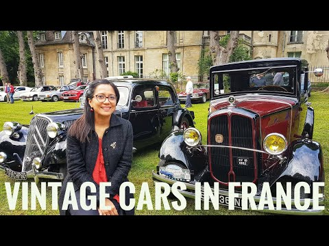 France Event: VINTAGE Cars Show / near Paris / Nointel/ France