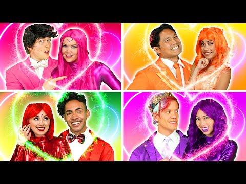 THE SUPER POPS DATE NIGHT AND BOYFRIEND CHALLENGE Totally TV Originals
