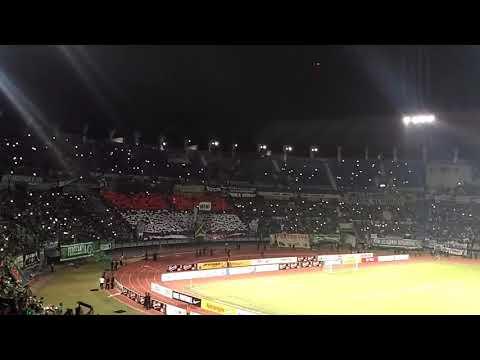 Indonesia raya di GBT Gelora bung tomo