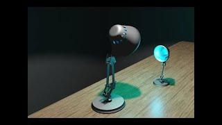Luxo Jr Remade in Blender