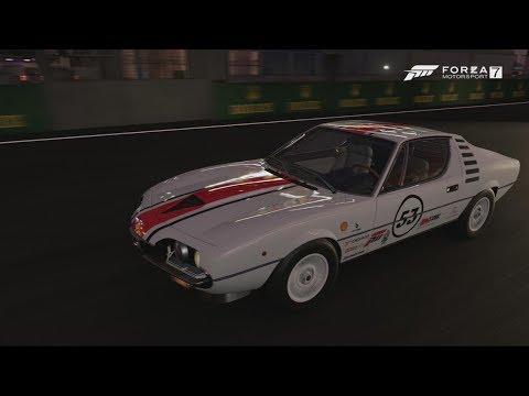 Forza 7 37 career Alfa Montreal Le Mans Bugatti Circuit
