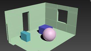 Моделирование комнаты в 3DS Max 2016. Гостиная (Урок №1)