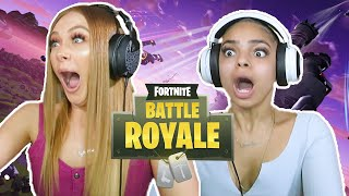 GETTING BULLIED BY 10 YEAR OLDS ON FORTNITE - AVEC YASMIN DIAZ
