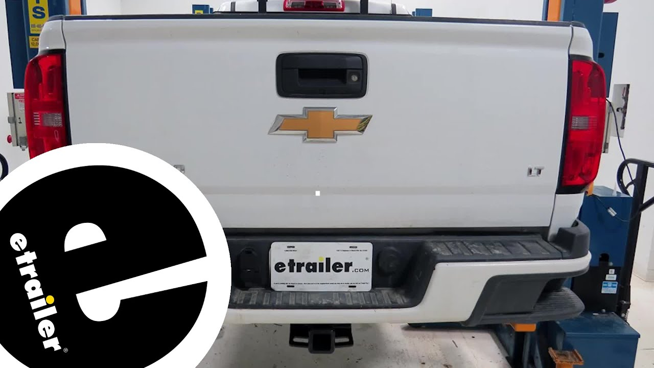 hight resolution of trailer wiring harness installation 2015 chevrolet colorado etrailer com