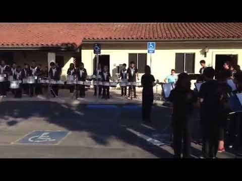 La Cumbre Junior High School Drumline 2013