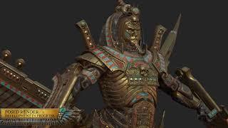 Total War: Warhammer 2 — Rise of the Tomb Kings — встречайте Сфинксов