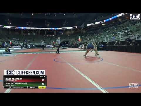 Vincent Genatone - 195lbs Nebraska State Champ, 100m Dash, North Platte High School