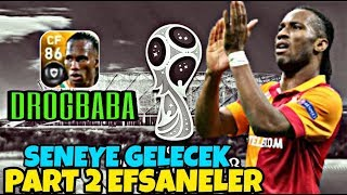 PES 2019 Mobil - GELMESİ BEKLENEN EFSANELER vol.2 DROGBABA !!