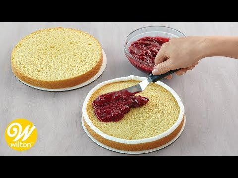 How to Assemble and Fill a Cake   Wilton
