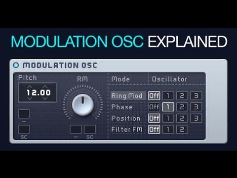 NI Massive - The Modulation OSC - How To Tutorial