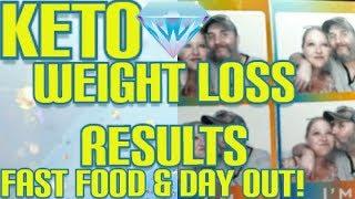 Keto, Fast Food, Weight Loss Results, keto Meals, daily Vlog