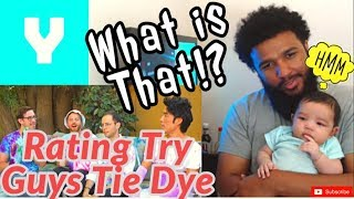 Try Guys - Tie Dye Challenge   Reaction