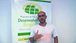 Entrevista com aluno do PPGDR - Juscelino Gomes Lima