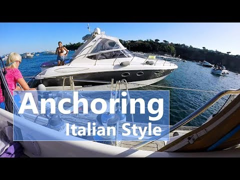 Ep 62 Anchoring Italian Style (s/v Talisman)