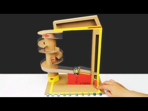 3 Easy Life Hacks DIY Cardboard Crafts Toys for Kids