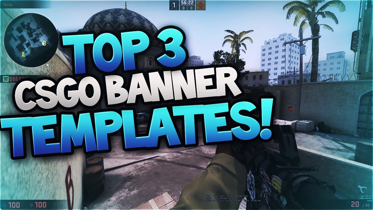 top 3 csgo free clean revamp pack banner template logo template