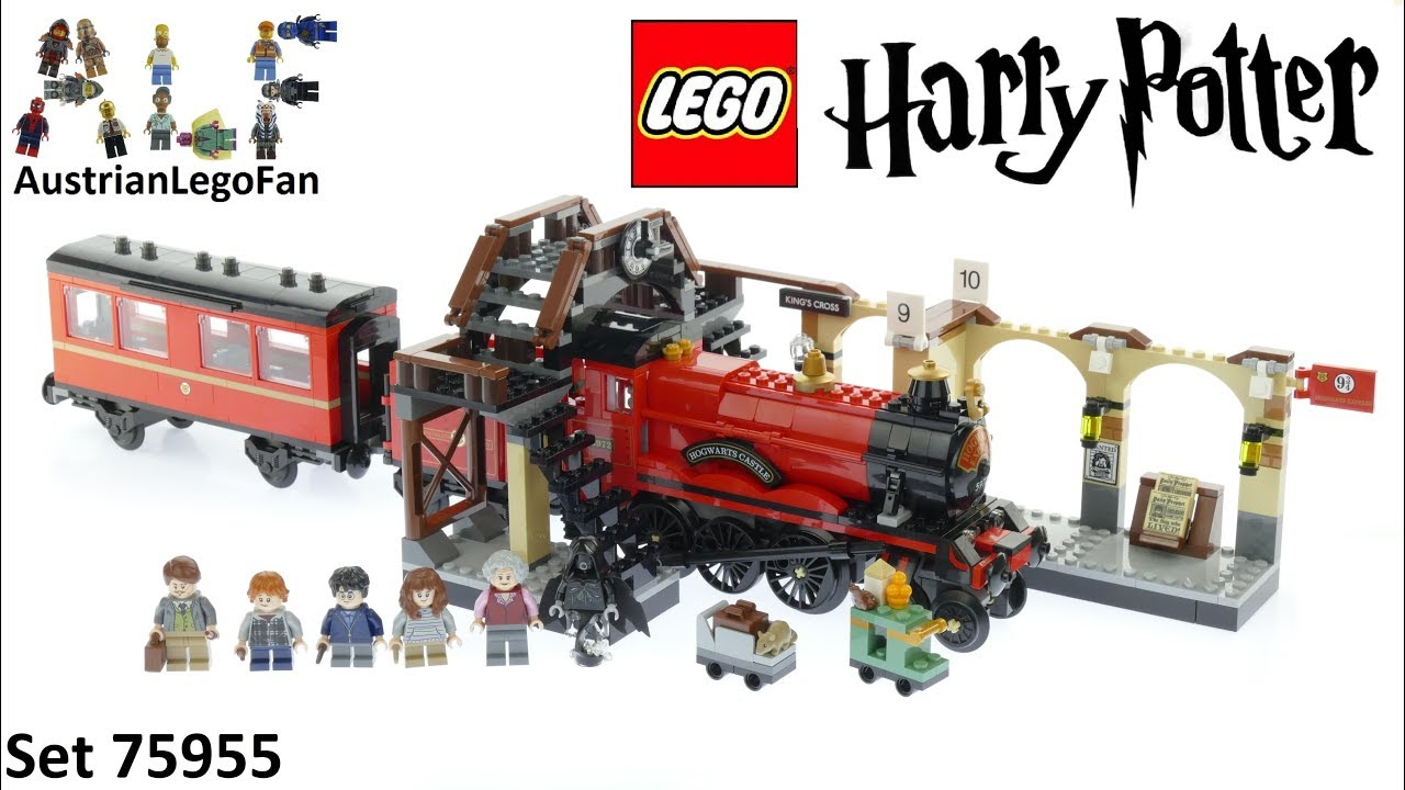 Lego Harry Potter 75955 Hogwarts Express - Lego Speed Build Review
