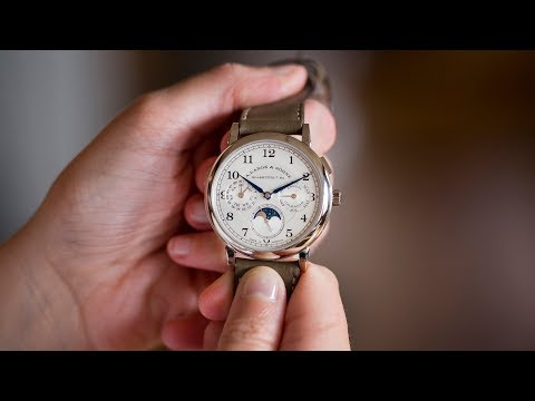 A Week On The Wrist: The A. Lange & Söhne 1815 Annual Calendar