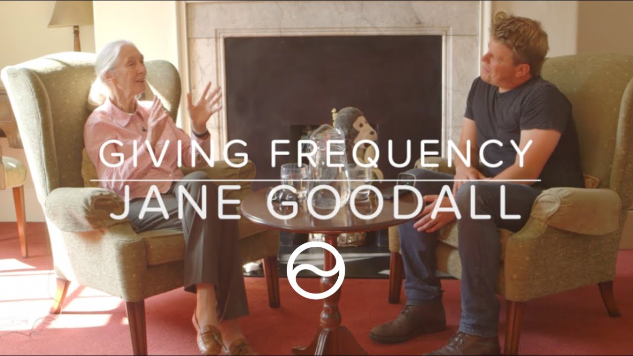 Jane Goodall // Our Global Future in Giving // Dave Erasmus