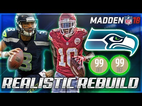 Rebuilding The Seattle Seahawks | HIGHEST OVERALL IN REBUILD HISTORY! | Madden 18 Franchise