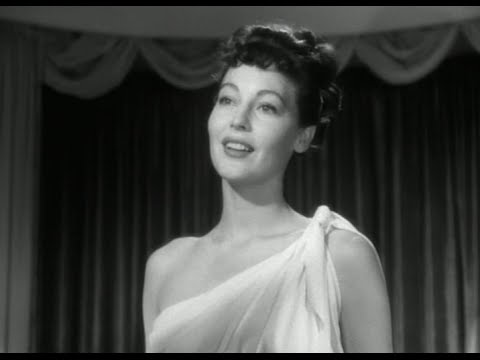 One Touch of Venus 1948 clip  Ava Gardners Venus statue comes to life!