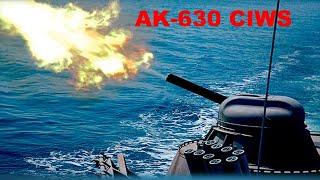 AK-630 Close In Weapon System (CIWS) Gatling Gun