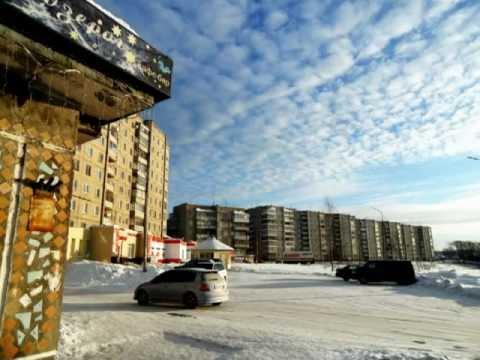 Зима в городе Кушва.